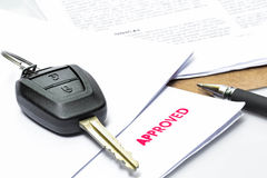 Car Rent or Car Loan Approved Royalty Free Stock Photo