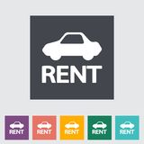 Car for rent Stock Images