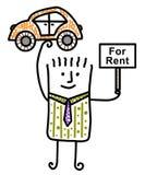 Car rental business Royalty Free Stock Photos