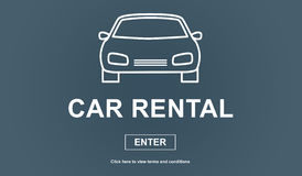 Car rental concept Royalty Free Stock Images