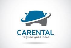 Car Rental Logo Template Design Vector, Emblem, Design Concept, Creative Symbol, Icon. This design suitable for logo, symbol, emblem or icon Stock Images