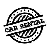 Car Rental rubber stamp Stock Images