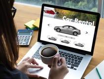 Car Rental Salesman Automobile Vehicles Car Rentals Transportati. On Royalty Free Stock Images