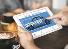 Car Rental Salesman Automobile Vehicles Concept Stock Photography