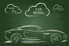Car Rental Services Royalty Free Stock Images