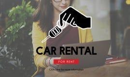 Car Rental Vehicle Transportation Service Concept Royalty Free Stock Photo