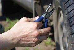 Car repair Royalty Free Stock Images