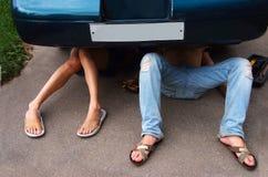Car repair Royalty Free Stock Image