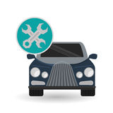 Car repair design, vector illustration Stock Image