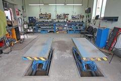 Car repair garage Stock Image