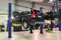 Car repair garage Royalty Free Stock Photo