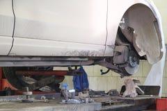 car repair garage Stock Images