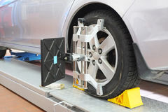Car repair garage Royalty Free Stock Photography