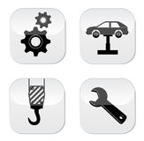 Car repair icon Stock Photos