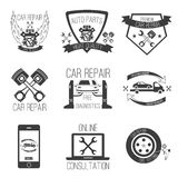 Car repair icon vector set car service Stock Images