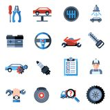 Car Repair Icons Stock Photography