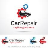 Car Repair Logo Template Design Vector Royalty Free Stock Image