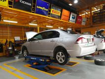Car Repair and Maintenance Services Stock Photo