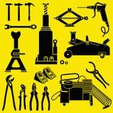 Car Repair and Maintenance Tools Stock Photos
