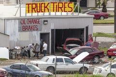 Car Repair Shop Royalty Free Stock Photo