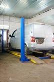 Car repair station Stock Photography