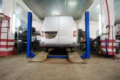 Car repair station Stock Photo