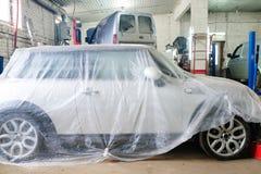 Car repair station Stock Image