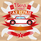 Car repair. Stock Image