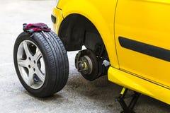 Car Repairing Stock Image