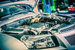Car Repairing Royalty Free Stock Images