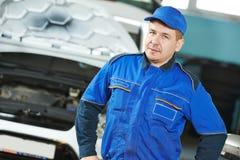 Car repairman auto mechanic Stock Photography