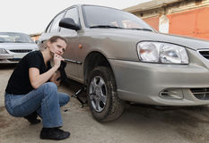 Car repairs Stock Photos