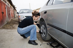 Car repairs Stock Photo