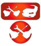 Car repairs royalty free illustration