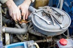 Car repairs. Stock Image