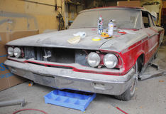 Car Restoration and Customization Stock Images