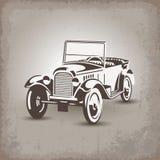 Car1 retro ruso ilustración del vector
