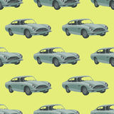car retro sport seamless επίσης corel σύρετε το διάνυσμα απεικόνισης άνευ ραφής διάνυσμα προτύπων κινούμενων σχεδίων αυτοκινήτων Στοκ εικόνες με δικαίωμα ελεύθερης χρήσης
