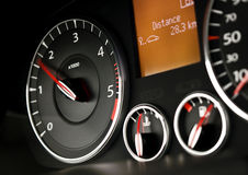 Car rev counter Royalty Free Stock Photography