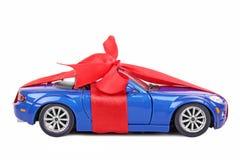 Car with ribbon