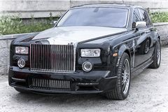 Car rich Rolls Royce Phantom Royalty Free Stock Image