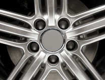 Car Rim Detail Stock Images