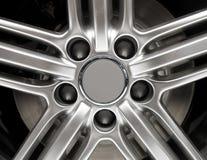 Car Rim Detail Stock Images