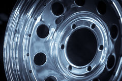 Car rim detail Royalty Free Stock Image