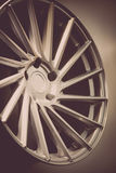 Car rim detail Royalty Free Stock Image
