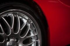 Car rim detail Royalty Free Stock Photography