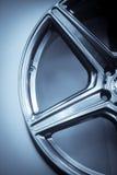 Car rim detail Stock Image