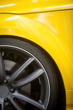 Car rim detail Royalty Free Stock Images