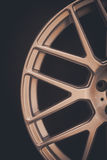 Car rim detail Stock Photography