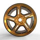 Car Rim Royalty Free Stock Images